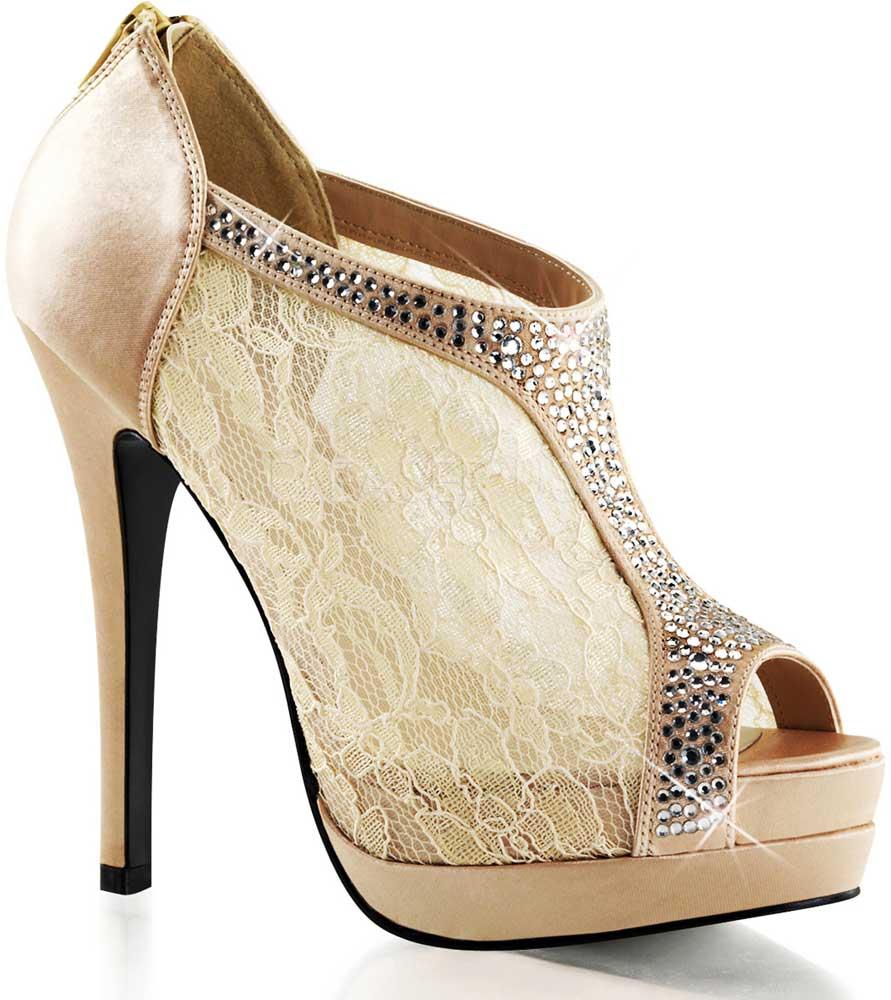 Sexy bootie heels