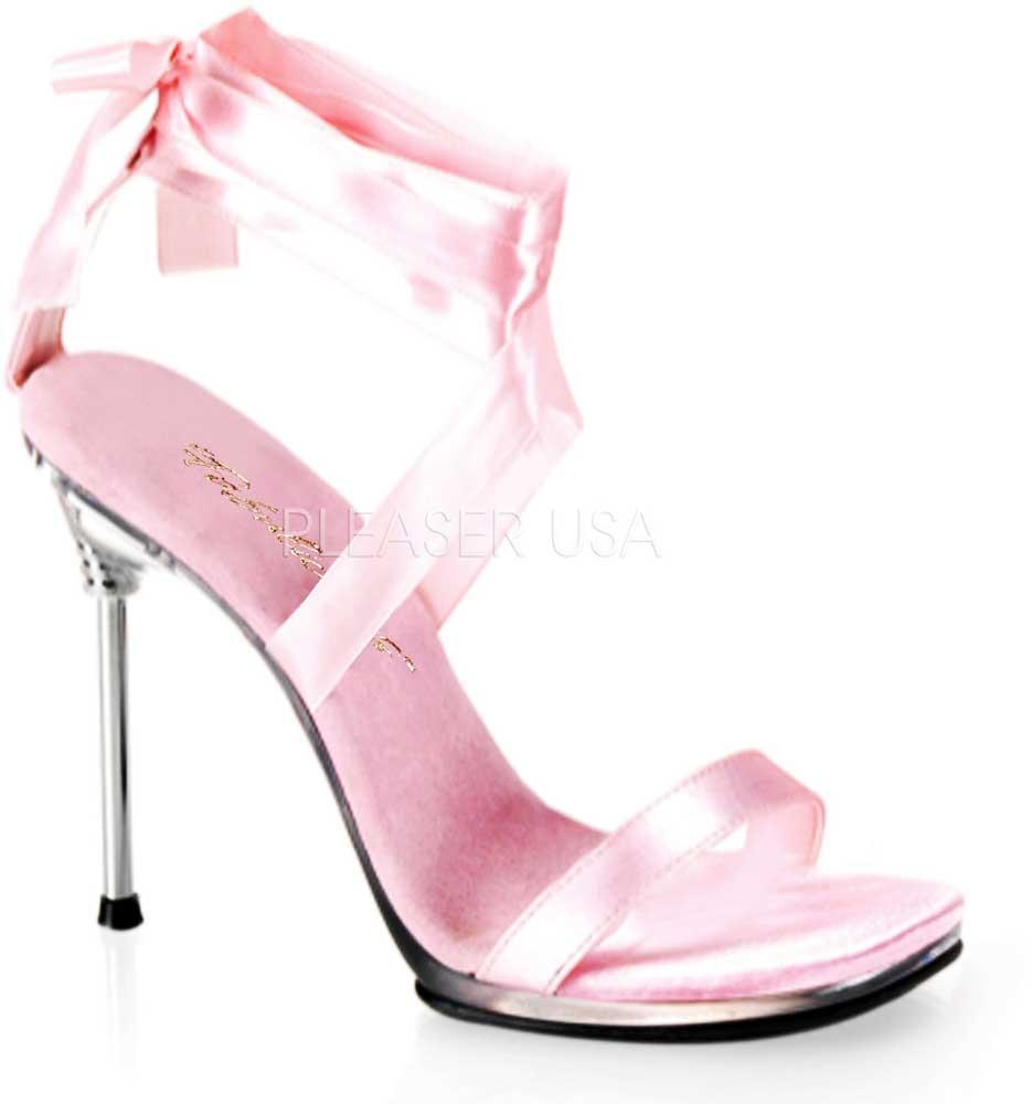 elegant ribbon tie ankle strap stiletto sandals high heels shoes adult women ebay. Black Bedroom Furniture Sets. Home Design Ideas