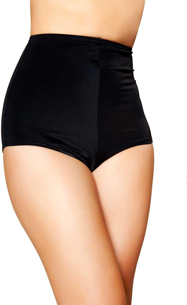 Adult Women Tight High Waisted Spandex Shorts Clubwear Dancewear