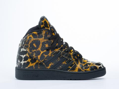 Adidas Originals X Jeremy Scott Instinct Hi in Leopard at Solestruck ...