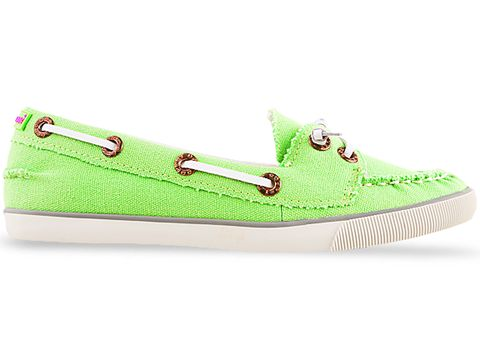 Green Neon Shoes