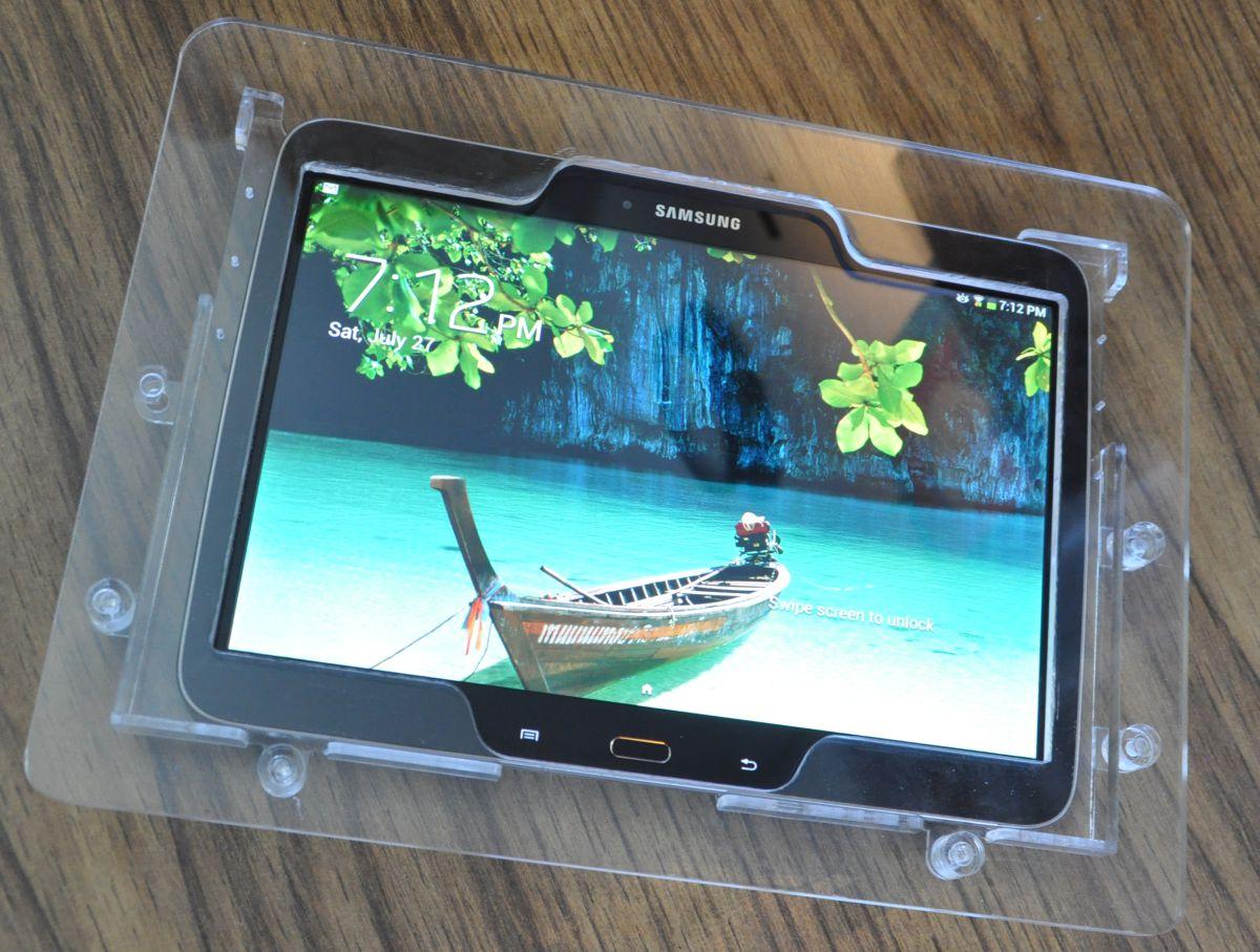 Samsung Galaxy Tab 4 10 1 Clear Acrylic Vesa Desktop Wall