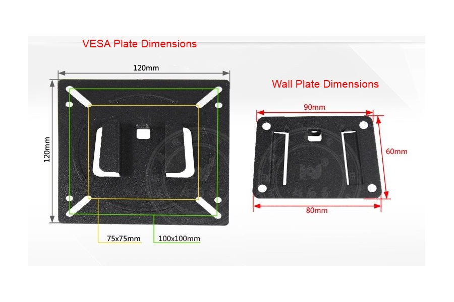 Led Wall Mounting Kit : Wall Mount KIT FOR LCD LED TV Tablet 7