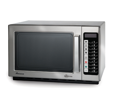 Acp Rcs10ts Amana Commercial Microwave Oven 1000 Watts Medium Volume Stainless Steel
