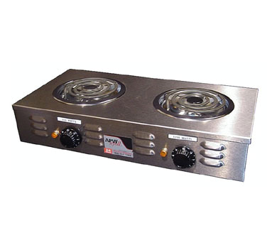 Countertop Burner Philippines : ... , Electric, 2 Burners, Counter Top, Portable, Stainless Steel 120v