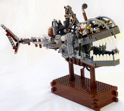 Lego Steampunk Shark Submersible