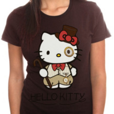Steampunk Hello Kitty T-Shirt