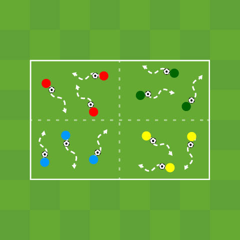 Ball Manipulation: Dribbling Grids
