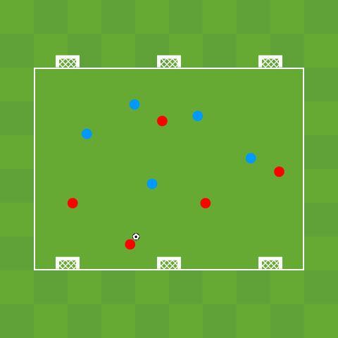 Team Defending:  Expanded Small-Sided Game