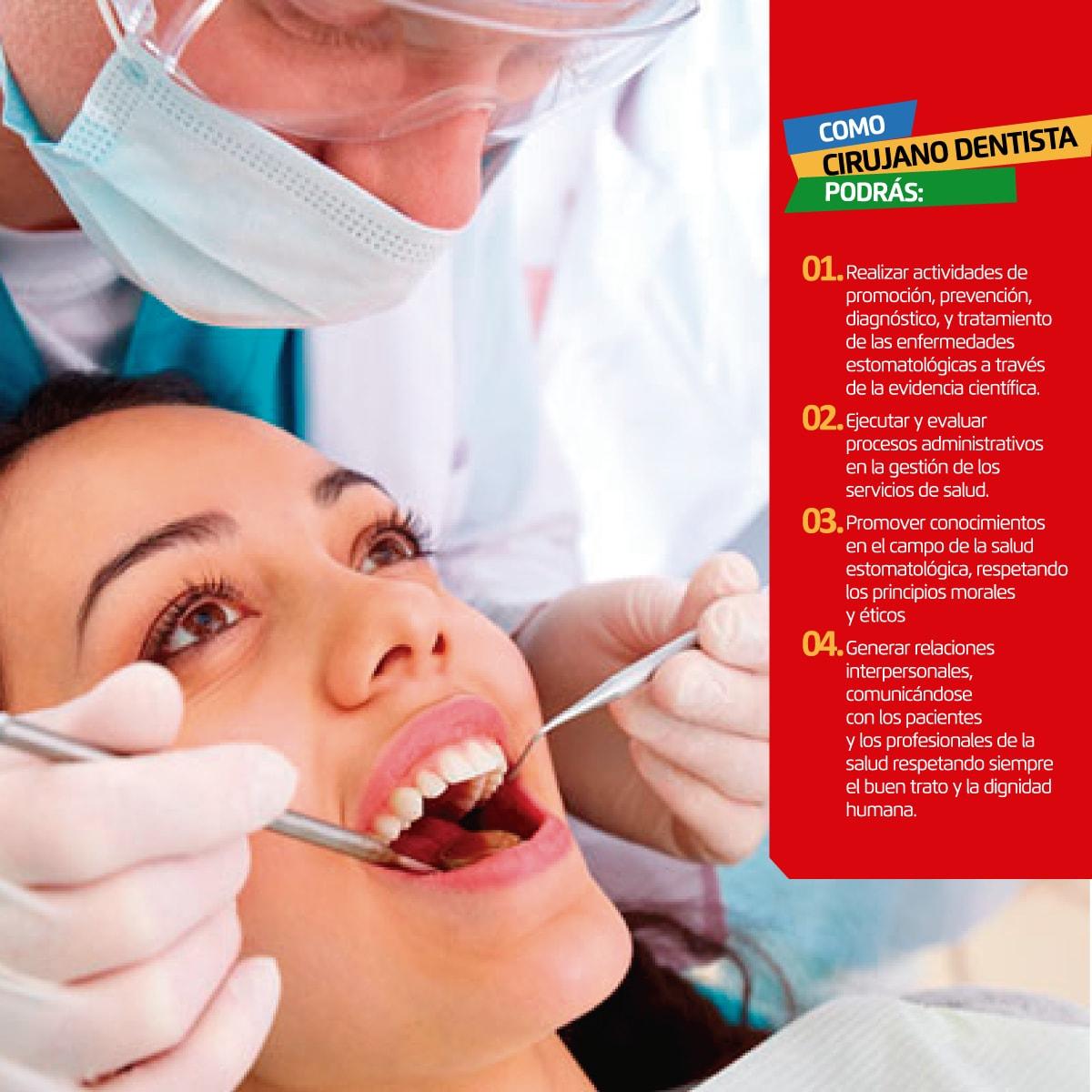 Carrera Profesional de Odontología