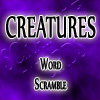 Scramble Words Creatures