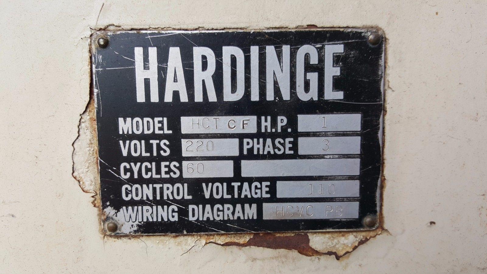 Metal Lathes Affordable Machinery Lathe Wiring Diagram Hardinge Chucker 9