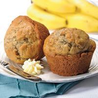 Thumb banana muffins