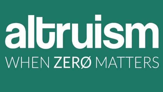 Altruism cover