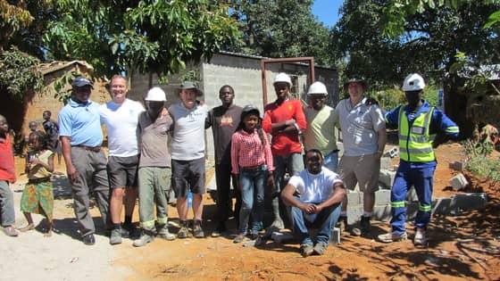 Zambia build page photo