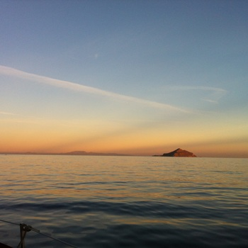 Smugglers gives you an interesting view of the long snakey  anacapa island