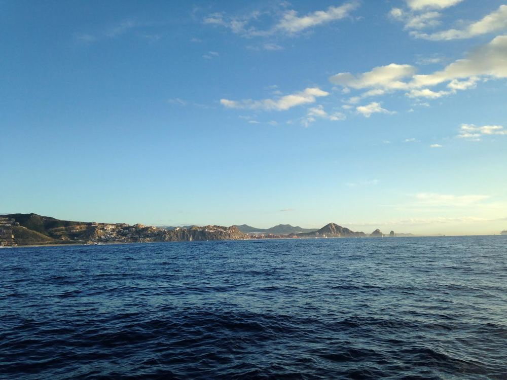 The cabo anchorage is nice and calm in the morning, but expect to be rockin and rollin by the afternoon.