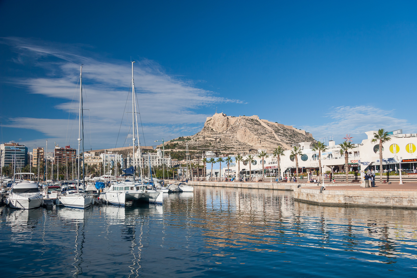 Spain alicante harbor