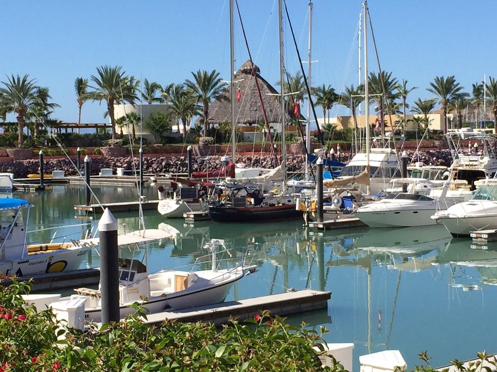 the docks at marina costa baja