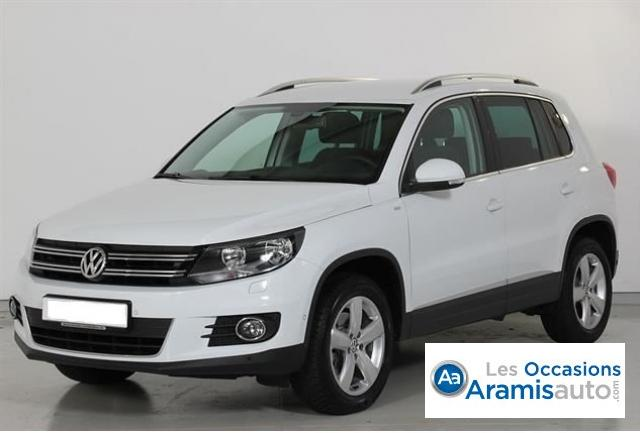 voiture volkswagen tiguan 2 0 tdi 140 cup 4motion offre sp ciale sur quip e occasion diesel. Black Bedroom Furniture Sets. Home Design Ideas