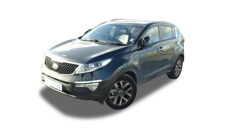 voiture kia sportage 1 6 gdi 135 isg 4x2 active gps sur quip e occasion essence 2014. Black Bedroom Furniture Sets. Home Design Ideas