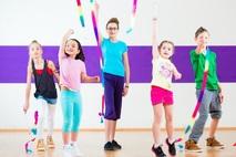 Small kids dancing