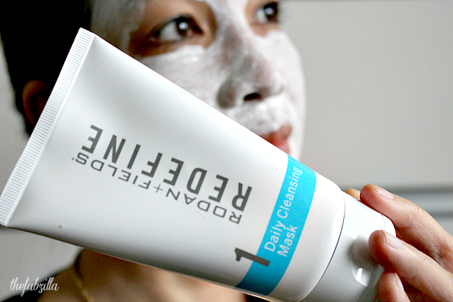 Rodan fields redefine daily cleansing mask review
