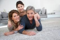 Small familyoncarpet