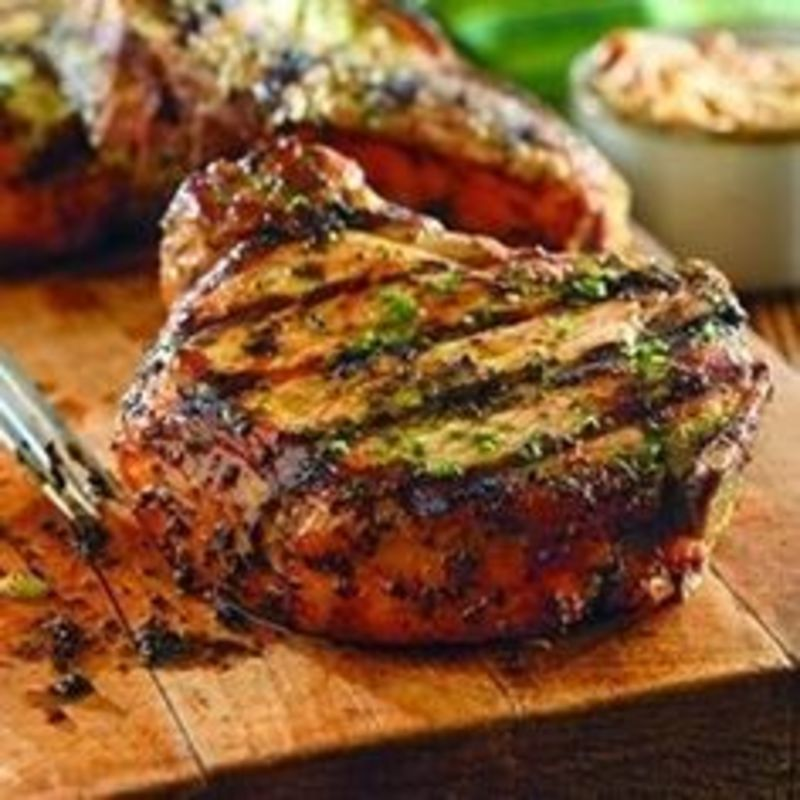 App bone in pork chop
