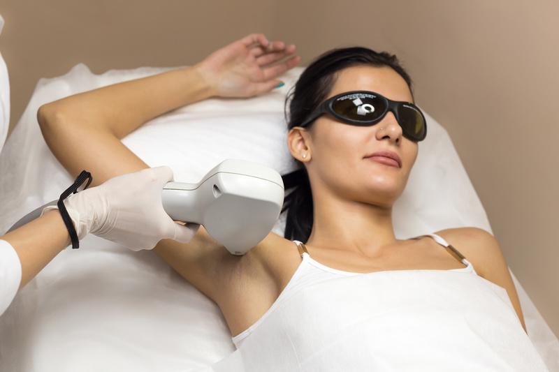 App laser hair removal underarm