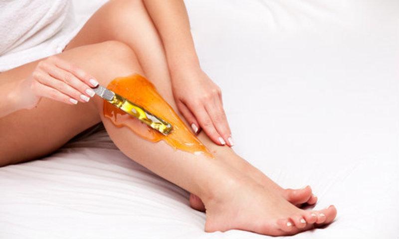 App leg wax