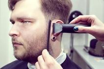 Small mens haircut