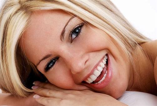 Plavusa osmjeh zubi