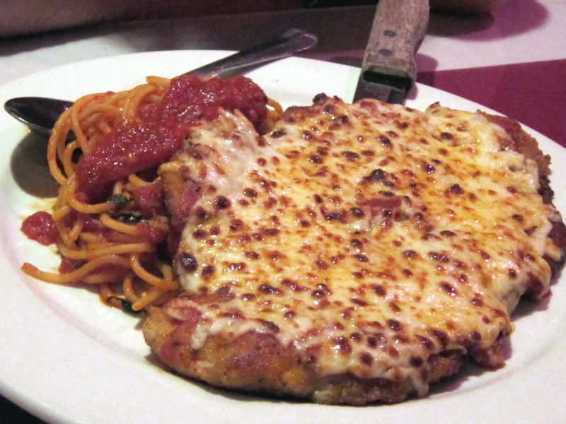 App chicken parmesan