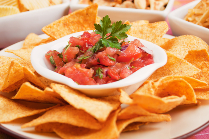 App chips and salsa