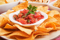 Small chips and salsa