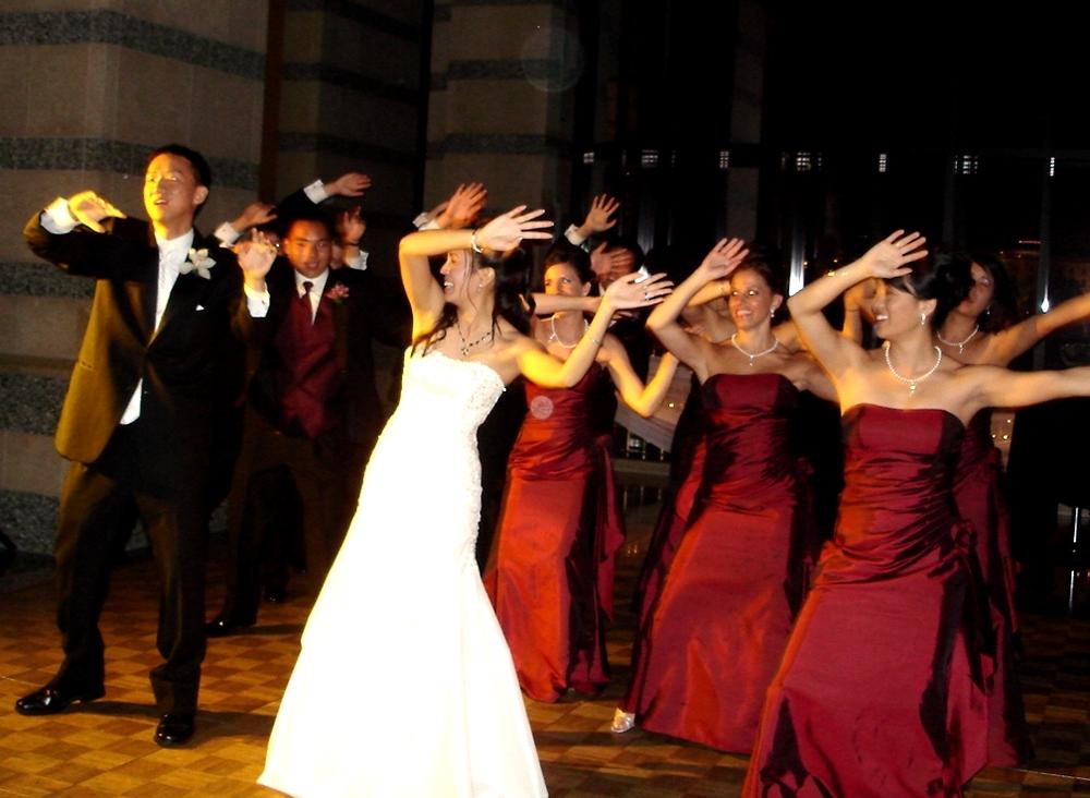 Wedding group dance songs