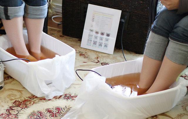Aqua ionic foot spa at rejuvenation center 2b