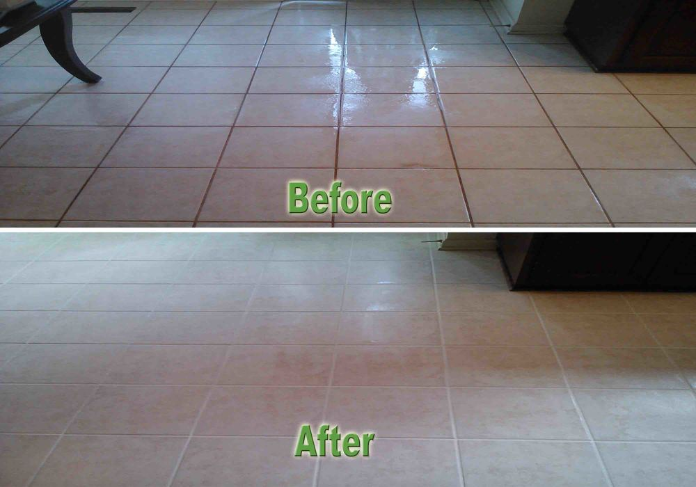 Tile and groutwhitefloor