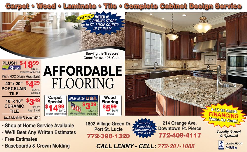 Affordable flooring oct half
