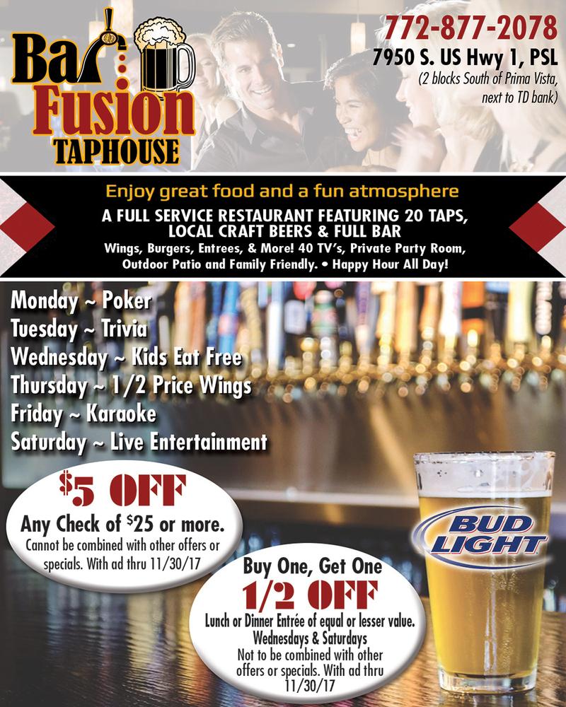 Bar fusion oct qtr