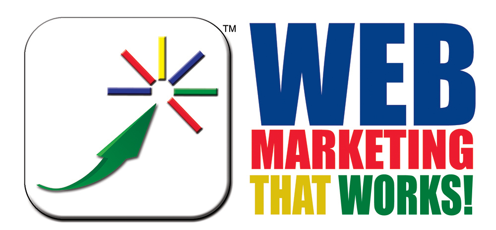 Web marketing logo