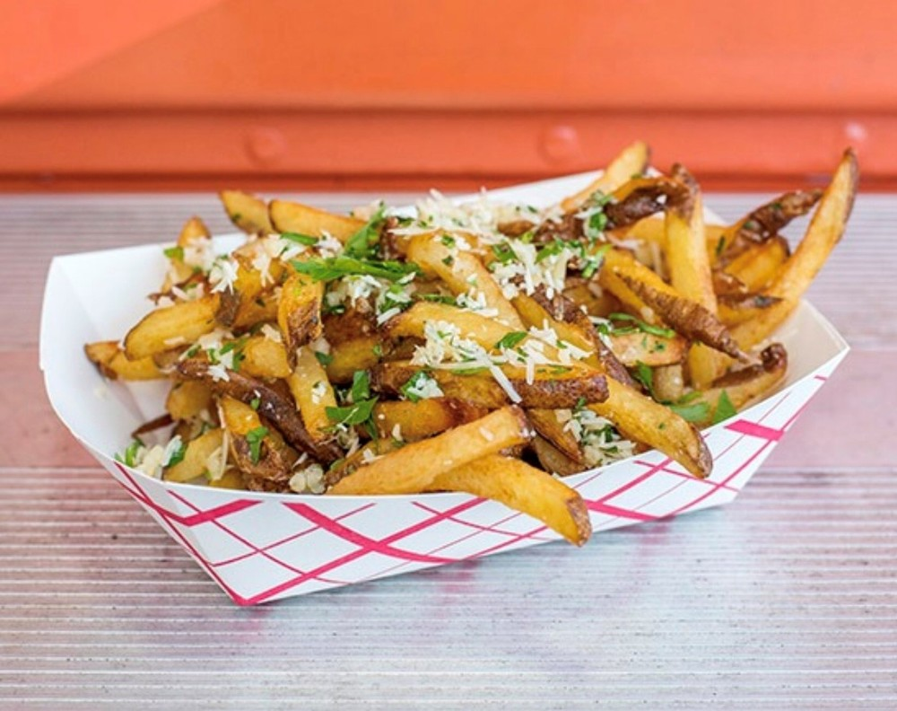 New garlic fries