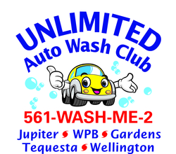 Unlimited auto wash logo