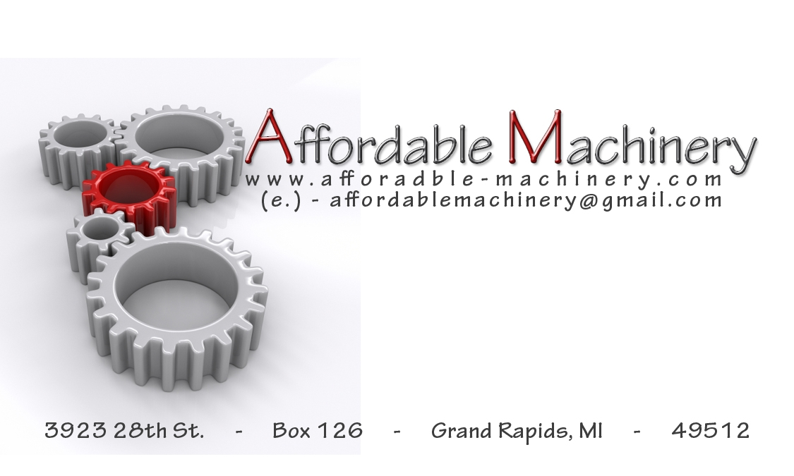Dimond Machinery   For Sale @ Affordable Machinery