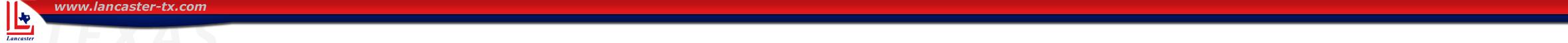 Lancaster, TX logo