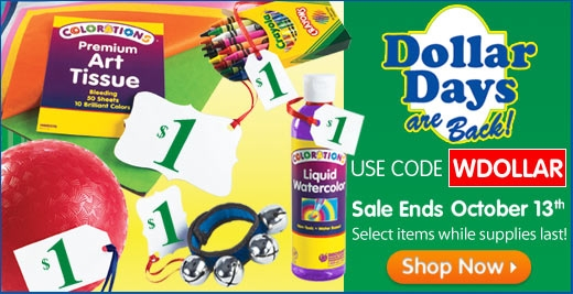 Discount School Supply offers the best variety of school supplies, arts and crafts supplies, teaching resources, educational based toys and games and learning tools for children, parents and teachers. With a collection of thousands of arts and craft materials, educational toys, dramatic play toys the Discount School Supply website and catalog.