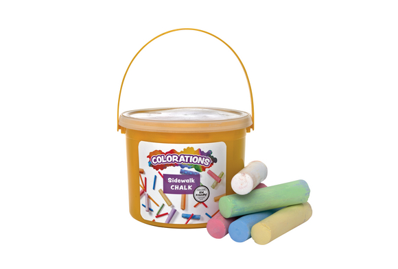 Colorations® Washable Sidewalk Chalk - 20 Pieces
