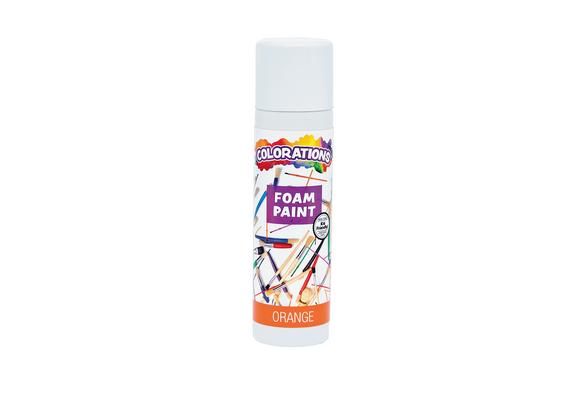 Colorations® Orange No-Drip Foam Paint, 8 oz.