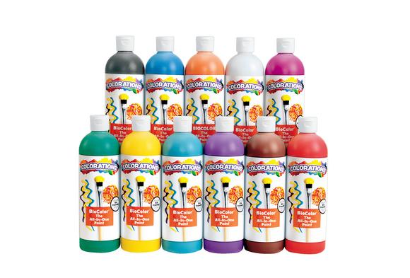 BioColor® Paint, 16 oz. - Set of 11